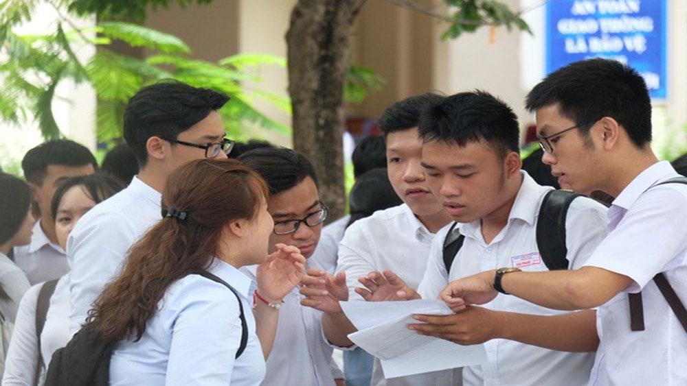 27 thí sinh vi phạm quy chế trong môn thi Ngữ văn
